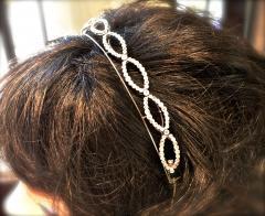 Antique diamond tiara bracelet circa 1890 - 1139520