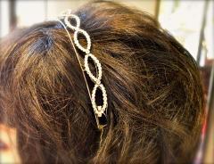 Antique diamond tiara bracelet circa 1890 - 1139522