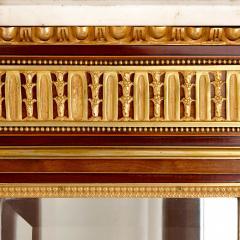 Antique gilt bronze mounted vitrine cabinet - 1481593