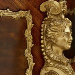 Antique kingwood gilt bronze and vernis Martin side cabinet - 1577175