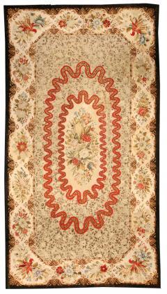 Antique needlepoint Carpet - 485609