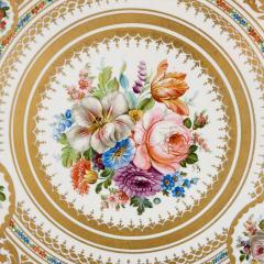 Antique porcelain and ormolu gueridon table - 1626936