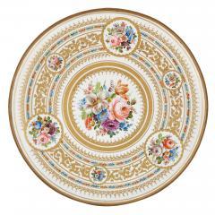 Antique porcelain and ormolu gueridon table - 1626938