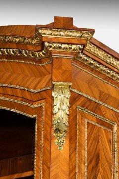 Antique tulipwood bureau bookcase - 825320