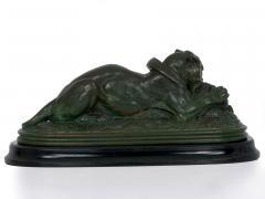 Antoine Louis Barye Tiger Devouring a Gavial Bronze Sculpture after Antoine Louis Barye 19th C  - 1066378