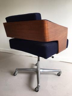 Antoine Philippon Jacqueline Lecoq Rare Comfort Office Chair Designed Antoine Philippon and Jacqueline Lecoq - 1646223