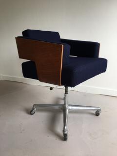 Antoine Philippon Jacqueline Lecoq Rare Comfort Office Chair Designed Antoine Philippon and Jacqueline Lecoq - 1646226