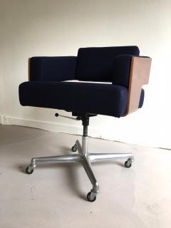 Antoine Philippon Jacqueline Lecoq Rare Comfort Office Chair Designed Antoine Philippon and Jacqueline Lecoq - 1646227