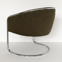 Anton Lorenz Pair of Tub Dining or Lounge Chairs by Joan Burgasser Anton Lorenz for Thonet - 1225249