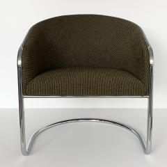 Anton Lorenz Set of 8 Tub Dining Chairs by Joan Burgasser Anton Lorenz for Thonet - 1162617