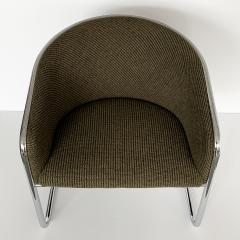 Anton Lorenz Set of 8 Tub Dining Chairs by Joan Burgasser Anton Lorenz for Thonet - 1162620