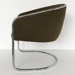 Anton Lorenz Set of 8 Tub Dining Chairs by Joan Burgasser Anton Lorenz for Thonet - 1162622