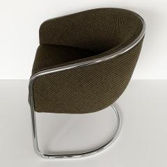 Anton Lorenz Set of 8 Tub Dining Chairs by Joan Burgasser Anton Lorenz for Thonet - 1162623