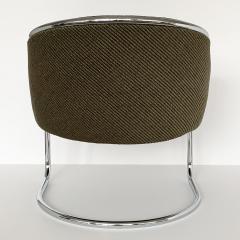 Anton Lorenz Set of 8 Tub Dining Chairs by Joan Burgasser Anton Lorenz for Thonet - 1162624