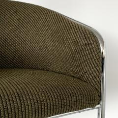 Anton Lorenz Set of 8 Tub Dining Chairs by Joan Burgasser Anton Lorenz for Thonet - 1162626