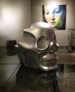 Antonio Cagianelli Contemporary Armchair Skull Transvital Mother by Antonio Cagianelli Italy - 537995