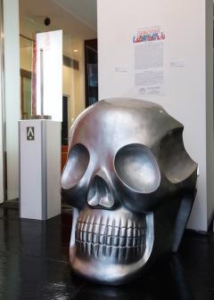 Antonio Cagianelli Contemporary Armchair Skull Transvital Mother by Antonio Cagianelli Italy - 537996