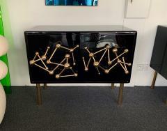 Antonio Cagianelli Contemporary Atomo Lacquered Cabinets Buffets by Antonio Cagianelli Italy - 1313813