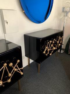 Antonio Cagianelli Contemporary Atomo Lacquered Cabinets Buffets by Antonio Cagianelli Italy - 1313814
