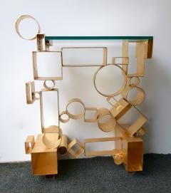 Antonio Cagianelli Contemporary Pair of Console Geometry by Antonio Cagianelli Italy - 561322
