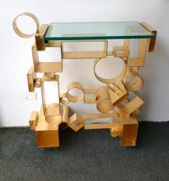 Antonio Cagianelli Contemporary Pair of Console Geometry by Antonio Cagianelli Italy - 561324