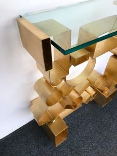 Antonio Cagianelli Contemporary Pair of Console Geometry by Antonio Cagianelli Italy - 561325