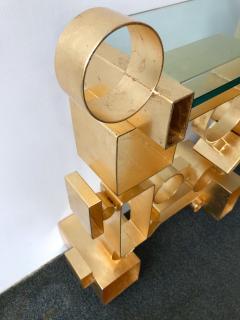 Antonio Cagianelli Contemporary Pair of Console Geometry by Antonio Cagianelli Italy - 561329