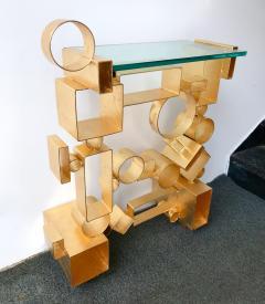 Antonio Cagianelli Contemporary Pair of Console Geometry by Antonio Cagianelli Italy - 561330