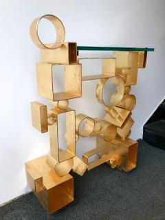 Antonio Cagianelli Contemporary Pair of Console Geometry by Antonio Cagianelli Italy - 561331