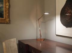Antonio Citterio Antonio Citterio Touch Sensitive Table Lamp in Rose Gold Finish 2015 signed  - 980020