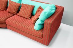 Antonio Citterio Large Red and Green Sofa Sity by Antonio Citterio B B Italia 1986 - 1300487