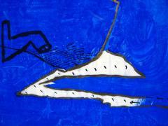 Antonio Davide Antonio Davide Impressioni Mediterranee 1970 Mixed Media On Board - 1176700