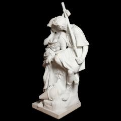 Antonio Frilli Large marble sculpture of an amorous couple by Antonio Frilli - 1683194