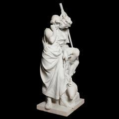 Antonio Frilli Large marble sculpture of an amorous couple by Antonio Frilli - 1683195