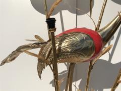 Antonio Pavia Brass Crane Floor Lamp by Antonio Pavia - 439759