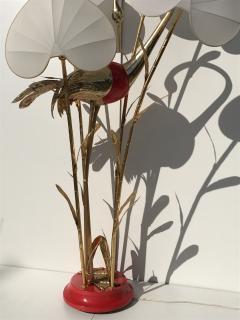 Antonio Pavia Brass Crane Floor Lamp by Antonio Pavia - 440110