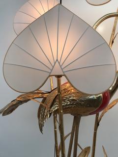 Antonio Pavia Brass Crane Floor Lamp by Antonio Pavia - 440113
