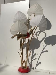 Antonio Pavia Brass Crane Floor Lamp by Antonio Pavia - 440116