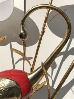 Antonio Pavia Brass Crane Floor Lamp by Antonio Pavia - 440117