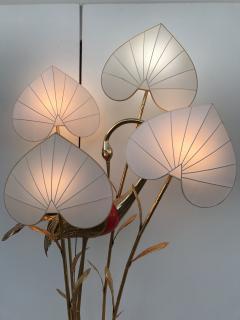 Antonio Pavia Brass Crane Floor Lamp by Antonio Pavia - 440119