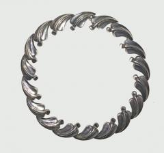 Antonio Pineda Antonio PIneda necklace with leaf design - 1321642