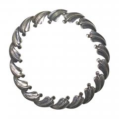 Antonio Pineda Antonio PIneda necklace with leaf design - 1324170