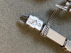 Antonio Pineda Antonio Pineda Sterling Silver and Amethyst Bracelet pair  - 1984981