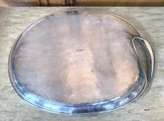 Antonio Pineda Mexican Modernist Silver Tray by Antonio Pineda - 1310003