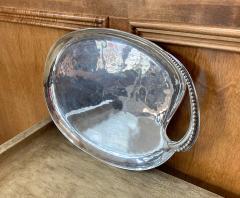 Antonio Pineda Mexican Modernist Silver Tray by Antonio Pineda - 1310004