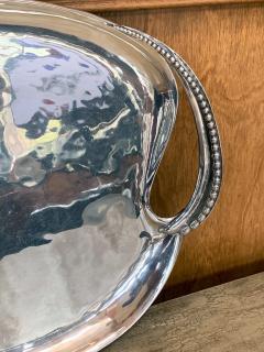 Antonio Pineda Mexican Modernist Silver Tray by Antonio Pineda - 1310007