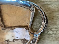 Antonio Pineda Mexican Modernist Silver Tray by Antonio Pineda - 1310009