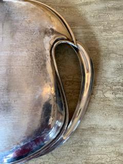 Antonio Pineda Mexican Modernist Silver Tray by Antonio Pineda - 1310010