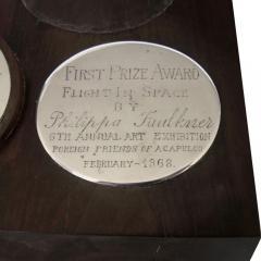 Antonio Pineda Unique Silver Ebony Trophy by Antonio Pineda 1968 - 180969