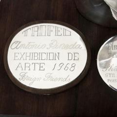 Antonio Pineda Unique Silver Ebony Trophy by Antonio Pineda 1968 - 180971